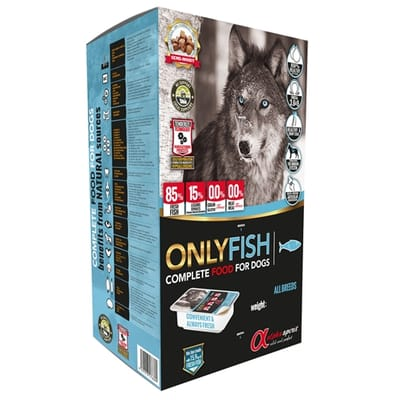 Alpha spirit only fish complete kg