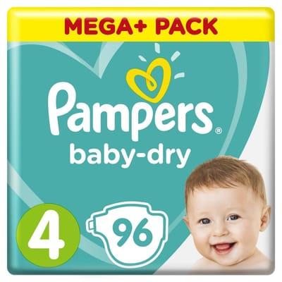 Pampers Baby Dry Luiers Maat 4 96