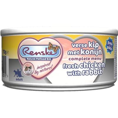 Renske Kip Konijn Kat 70 gr