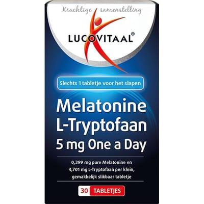 Lucovitaal Melatonine L Tryptofaan
