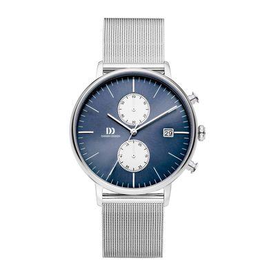 Danish Design IQ72Q975 horloge heren zilver edelstaal