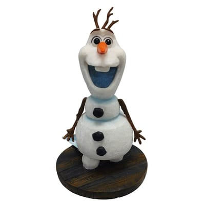 Disney Frozen Aquarium Mini Olaf Staand