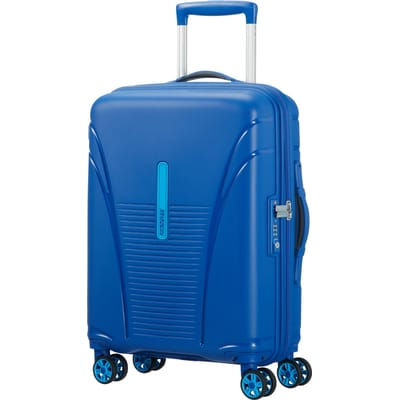 American Tourister Skytracer Spinner 55 highline blue