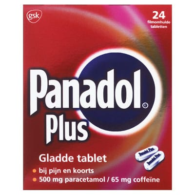 Panadol Plus gladde tablet