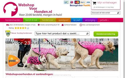Webshop voor Honden