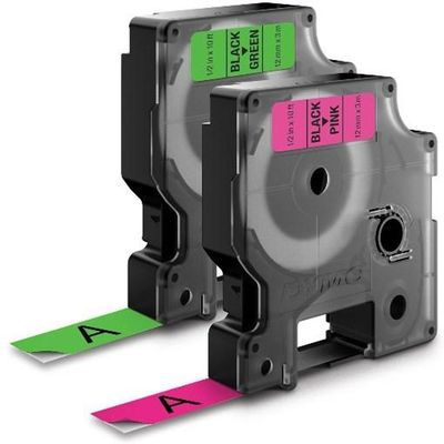 DYMO Letratag NEON Tape Pack