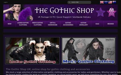 The-gothic-shop.co.uk website
