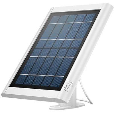 Ring Solar Panel Wit Voor Spotlight Cam Batterij