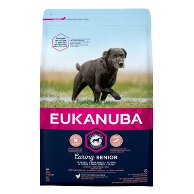 Eukanuba Caring Senior Large Breed Kip Hondenvoer 12 kg
