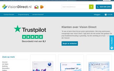 VisionDirect website