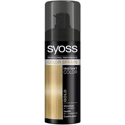 Color spray gold