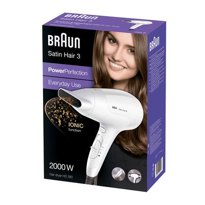 Braun Satin Hair 3 PowerPerfection HD380 Haardroger