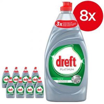 Dreft Platinum Afwasmiddel Original 8 x 820 ml