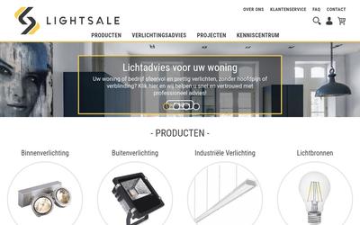 Lightsale website