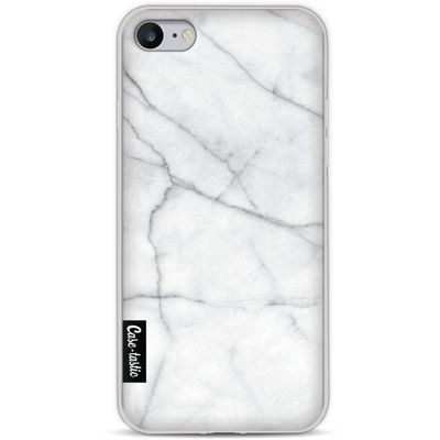 Casetastic Softcover Apple iPhone 8 White Marble