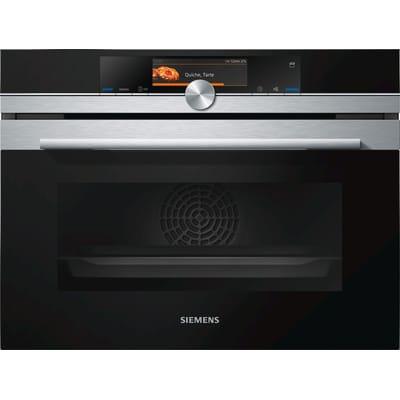 Siemens CS658GRS6 iQ700 Stoomoven HomeConnect Zwart