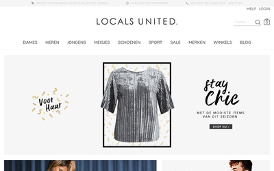 Locals united website