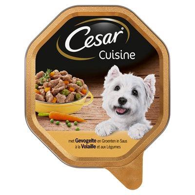 Cesar alu cuisine gevogelte groente in saus 150 gr