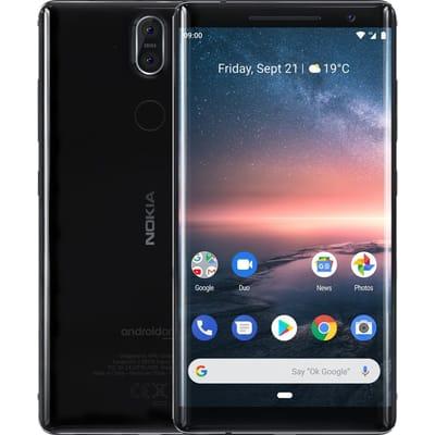 Nokia 8 Sirocco 128GB zwart