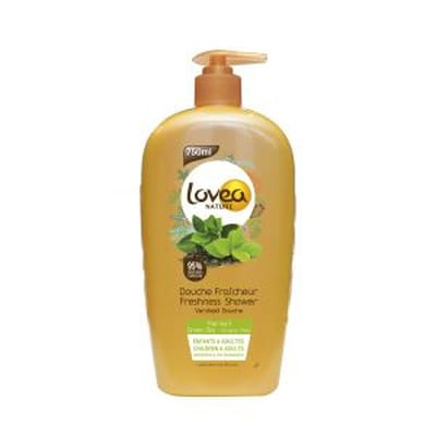 Shower gel green tea