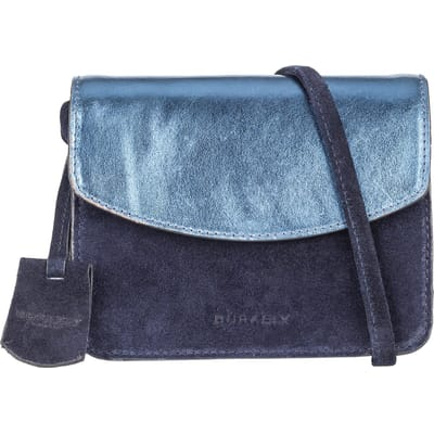 BURKELY Evening Metallic Navy tas