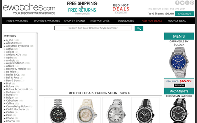 Ewatches.com website