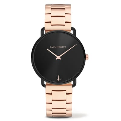 Paul Hewitt Miss Ocean Horloge Zwart 33 mm