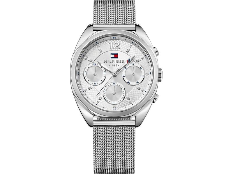Tommy Hilfiger Horloge Mia zilverkleurig 38 mm TH1781628