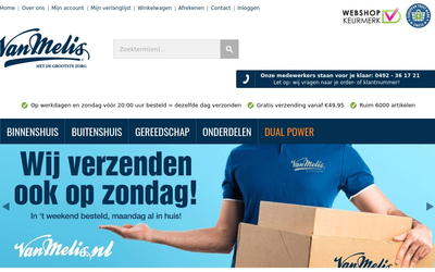 Van Melis website