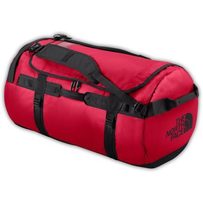The North Face Base Camp Duffel L TNF Red Black