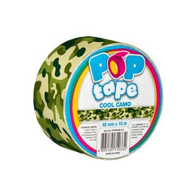 Pop Tape Cool Camo - 48 mm x 10 m