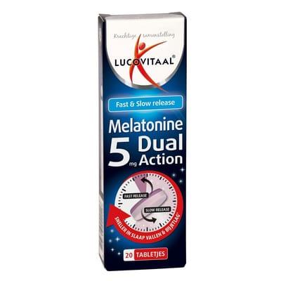 Lucovitaal Melatonine 5mg Dual Action
