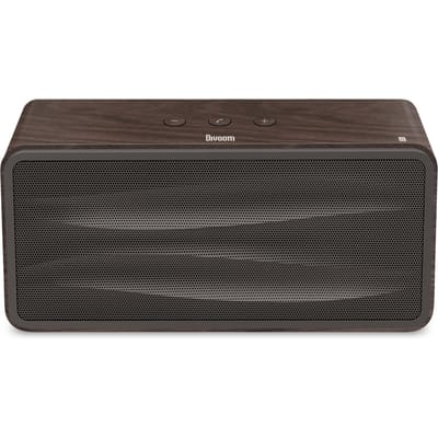 Divoom Bluetooth Wireless Speaker Charcoal Wood