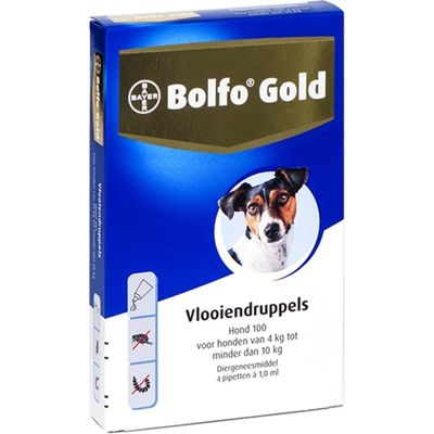 Bolfo Gold Hond 4 10 Pipet