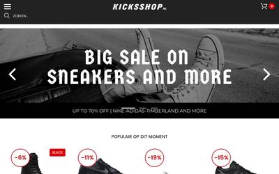 Kicksshop.nl website
