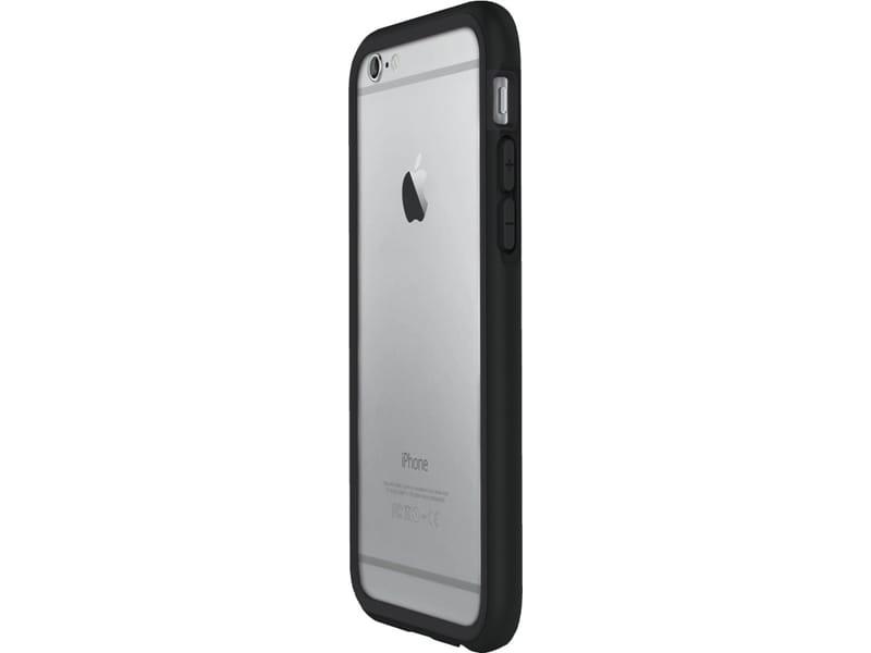 Rhinoshield Crash Guard Bumper Charcoal Black voor Apple iPhone 6 6s