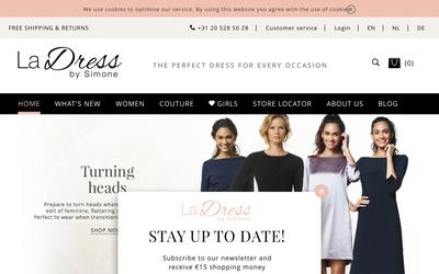 La Dress website