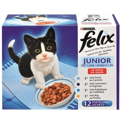 Felix Mix Selectie in Gelei Junior 12 x 100 gr