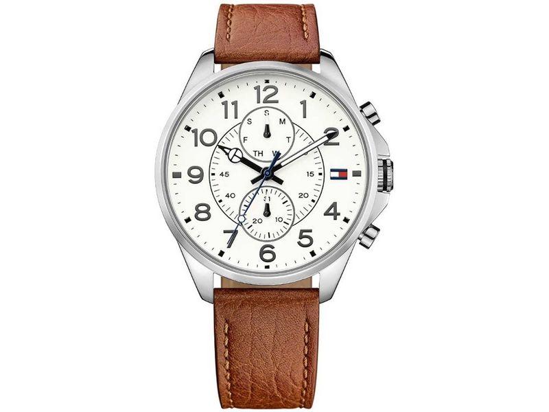Tommy Hilfiger TH1791274 horloge heren bruin