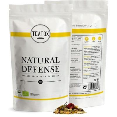 Teatox Natural Defense Green Tea Ginger Bio Refill