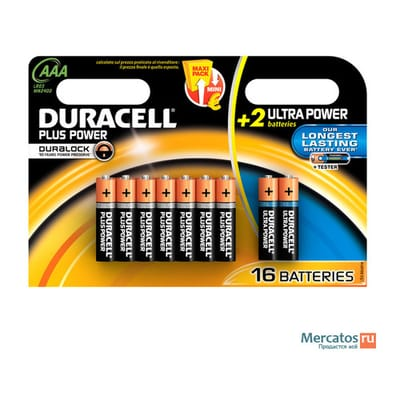 Duracell Plus Power batterij