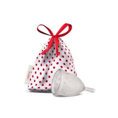Ladycup Menstruatie Cup Transparant Maat S