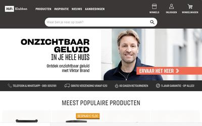 HiFi Klubben website