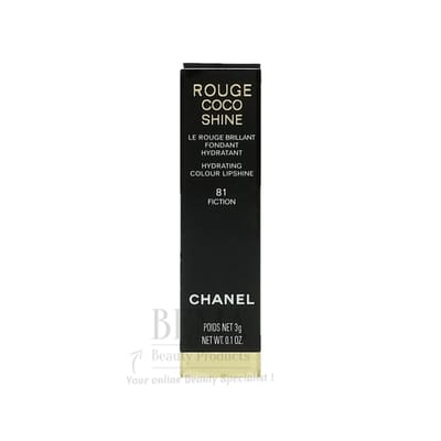 Chanel Rouge Coco Shine 81 Fiction Lippenstift