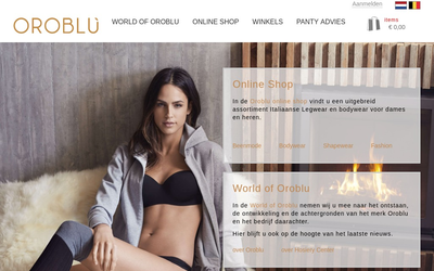 Oroblu.nl website