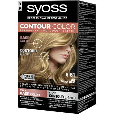 Syoss Contour Color Haarverf 8-61 Diva Golden 50 ml