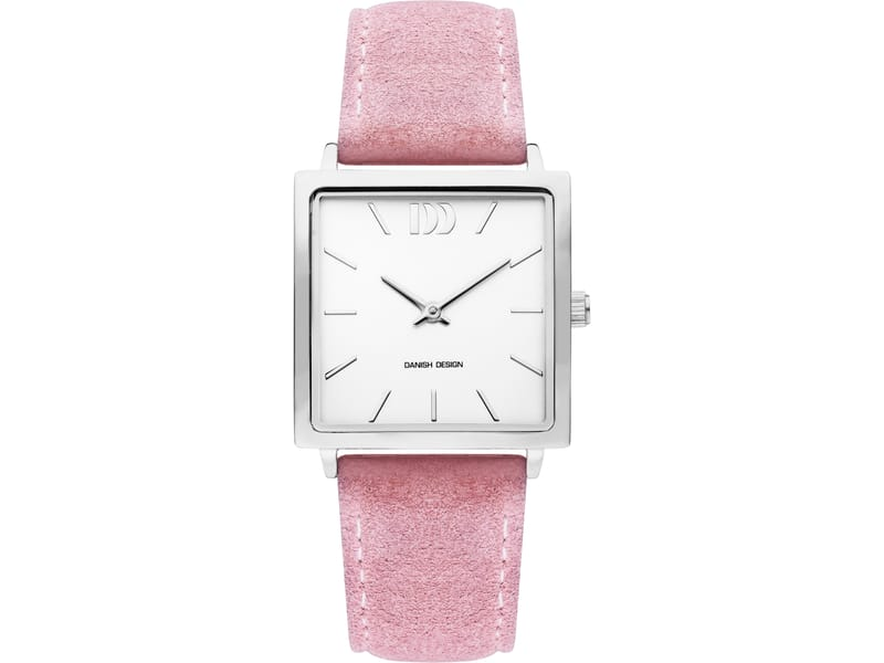 Danish Design IV20Q1248 horloge dames roze edelstaal