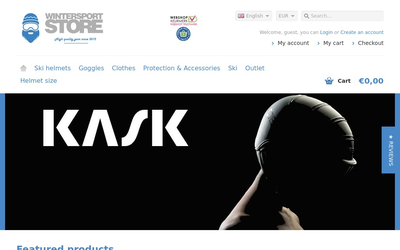 Wintersport-store website