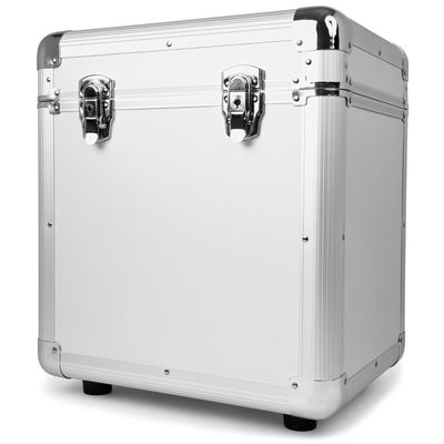 Power Dynamics RC100 Platenkoffer Zilver