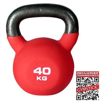 Pro Neopreen Kettlebell 40 kg Met
